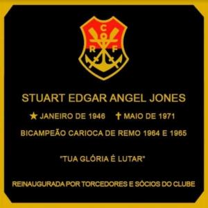 Placa Stuart Angel - Flamengo