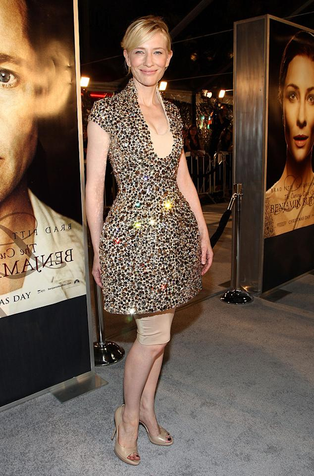 """<a href=""""http://movies.yahoo.com/movie/contributor/1800018917"""">Cate Blanchett</a> at the Los Angeles premiere of <a href=""""http://movies.yahoo.com/movie/1809785152/info"""">The Curious Case of Benjamin Button</a> - 12/08/2008"""