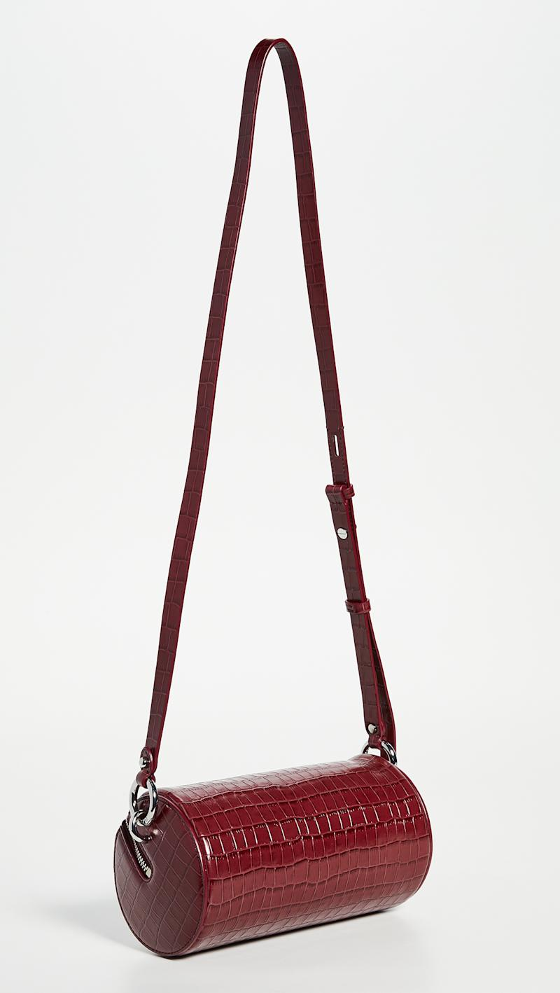 Rebecca Minkoff Luxe Coco Barrel Crossbody Bag