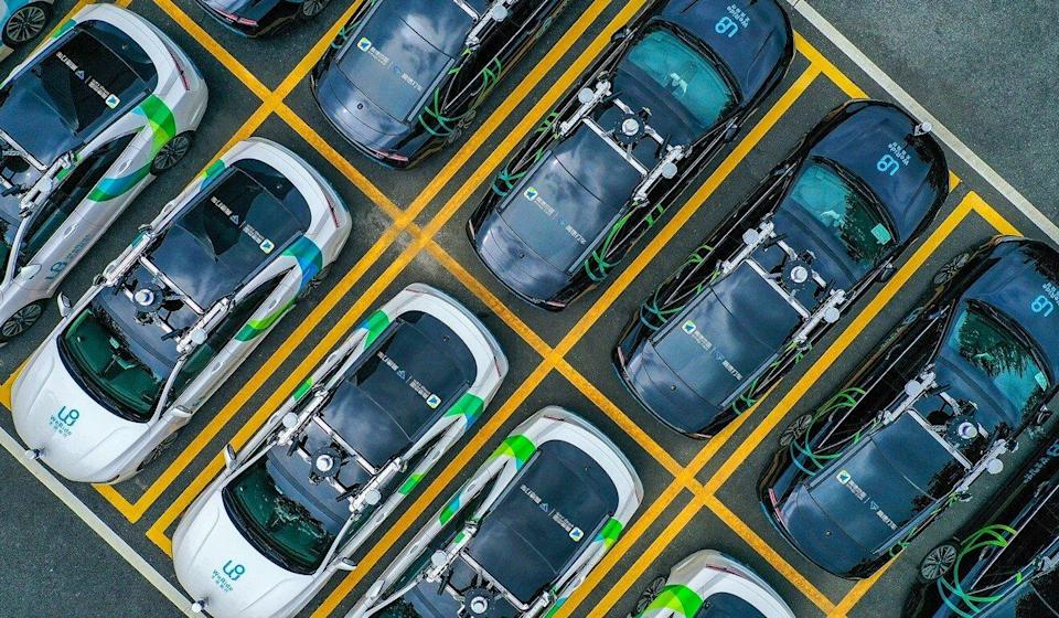 WeRide has a robotaxi fleet of 100 vehicles and more than 4 million kilometres in road tests under its belt. Photo: Handout