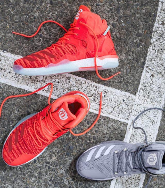 A closer look at the D Rose 7. (Courtesy of adidas)