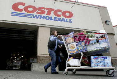Costco store: Credit AP