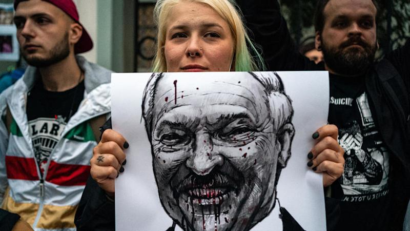 Belarus confirms protester's death amid violent crackdown on post-election unrest