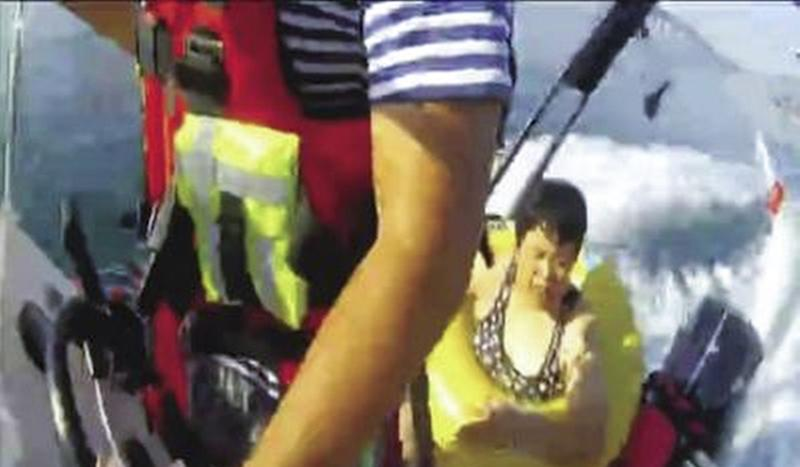 Seaside holiday turns into overnight ordeal for novice swimmer stranded alone offshore in China