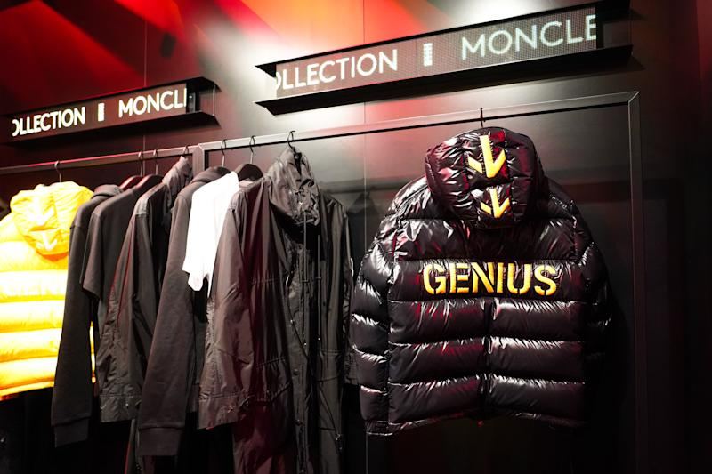 PARIS, FRANCE - NOVEMBER 07: General view during Moncler House Of Genius : Paris Opening Event at Galeries Lafayette Champs-Elysees on November 07, 2019 in Paris, France. (Photo by Edward Berthelot/Getty Images)