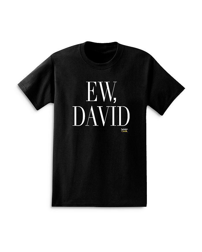Isaac Morris Schitt's Creek Ew, David Graphic Men's Cotton Crewneck T-Shirt
