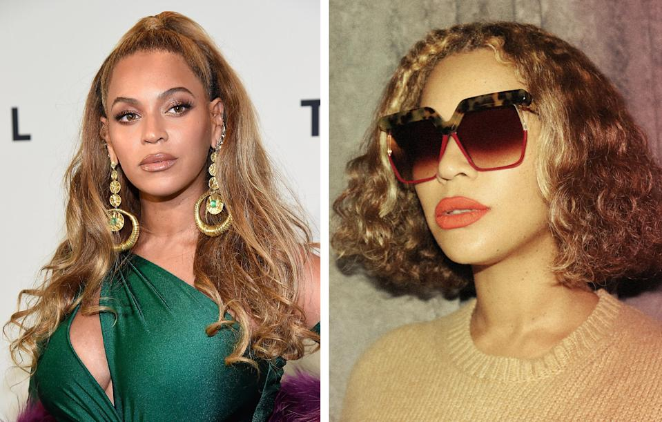 <p><strong>When: </strong>December 27<br>Beyonce shared a photo of her chic new vintage do.<br><i>[Photo: Getty/Beyonce]</i> </p>