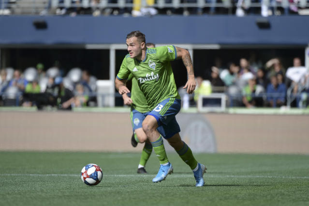 Jordan Morris' ability to stretch the Reds' back line could make the difference for Seattle. (Jeff Halstead/Getty)