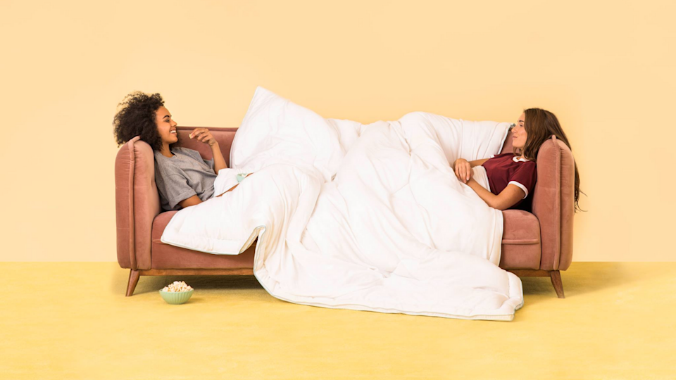 Buffy comforters are popular among shoppers—and now you can get one for 15% off.