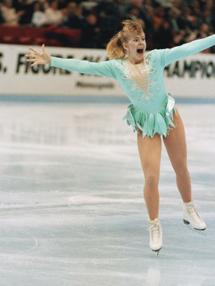<p>Tonya Harding was the hottest up-and-comer in figure skating when she clinched gold at the 1991 U.S. Championships by becoming the first American woman ever to successfully land a triple axel in competition. To this day, Harding is one of just a handful of women to do so, including current Olympian Mirai Nagasu. </p>