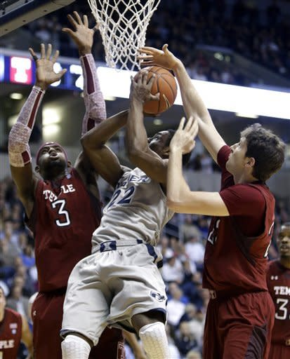 Xavier beats Temple 57-52 despite missing Davis