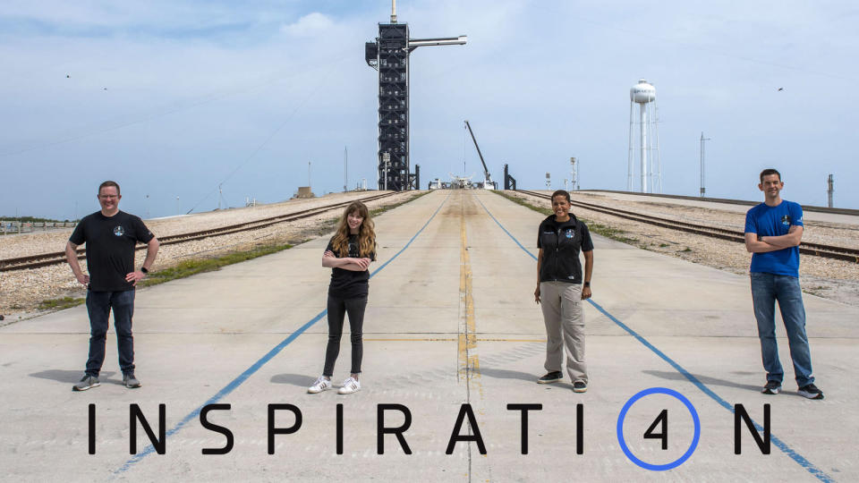Inspiration4 Crew - Historic Launchpad 39A - SpaceX