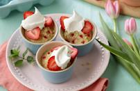 "<p>While traditional tres leches — a <a href=""https://www.thedailymeal.com/cook/best-mexican-recipes?referrer=yahoo&category=beauty_food&include_utm=1&utm_medium=referral&utm_source=yahoo&utm_campaign=feed"" rel=""nofollow noopener"" target=""_blank"" data-ylk=""slk:Mexican dish you can make at home"" class=""link rapid-noclick-resp"">Mexican dish you can make at home</a> — is made from scratch, this quick boxed cake recipe saves you steps and tastes just like the real thing.</p> <p><a href=""https://www.thedailymeal.com/best-recipes/tres-leches-mini-cakes?referrer=yahoo&category=beauty_food&include_utm=1&utm_medium=referral&utm_source=yahoo&utm_campaign=feed"" rel=""nofollow noopener"" target=""_blank"" data-ylk=""slk:For the Bunnies' Tres Leches Mini Cakes recipe, click here."" class=""link rapid-noclick-resp"">For the Bunnies' Tres Leches Mini Cakes recipe, click here.</a></p>"
