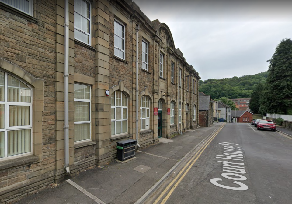 An inquest in Pontypridd heard that the owner of the car found Stephens' legs poking out from under the BMW. (Google Maps)