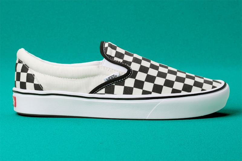 Vans ComfyCush Checkerboard Slip-On