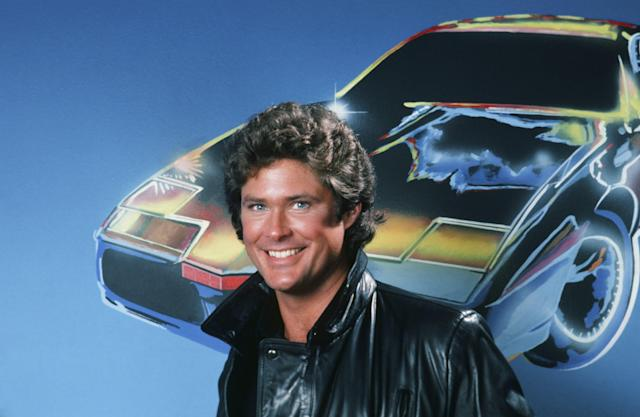 KNIGHT RIDER -- Season 2 -- Pictured: David Hasselhoff as Michael Knight -- Photo by: Herb Ball/NBC/NBCU Photo Bank