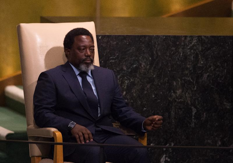 Kabila has stayed in office since his two-term constitutional limit expired