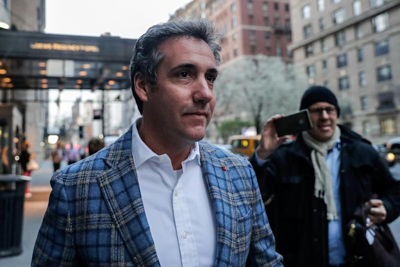 Michael Cohen used to be intensely loyal to President Donald Trump. (Jeenah Moon/Reuters)