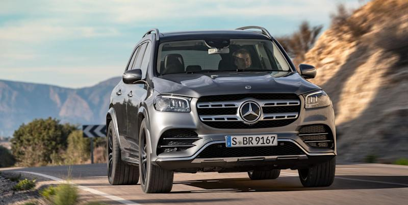 Image gallery: 2019 Mercedes-Benz GLB SUV