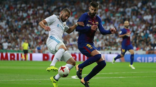 Gerard Pique painfully admitted Real Madrid are superior to Barcelona following their Supercopa de Espana triumph.