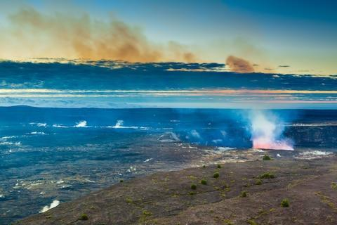 Hawaii fizzes with volcanic activity - Credit: GETTY