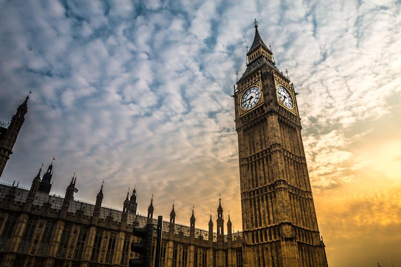 Big Ben at sunset. Photo: Getty