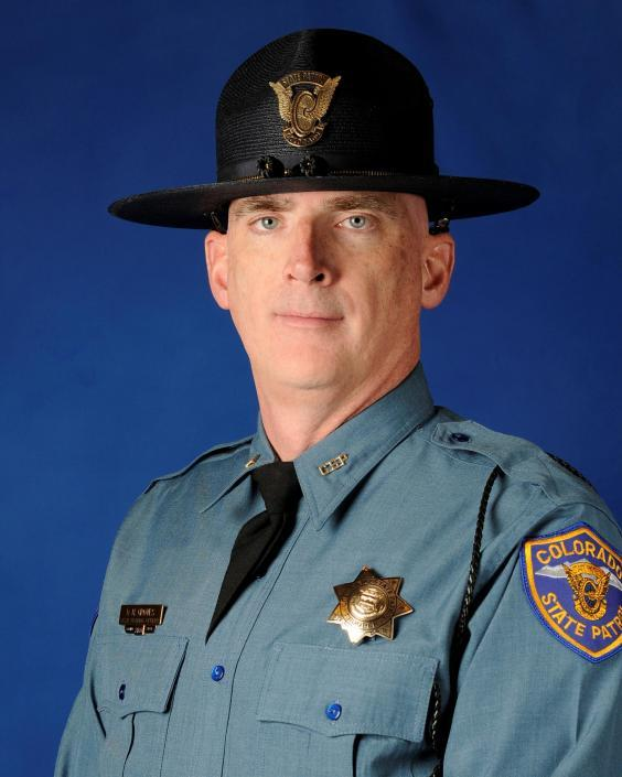 Colorado state trooper Daniel Groves died during the bomb cyclone (Colorado State Patrol)