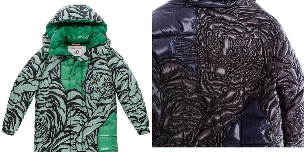 ee70ccffe Moncler and Valentino Just Made the Coolest Puffer Jackets on the Planet