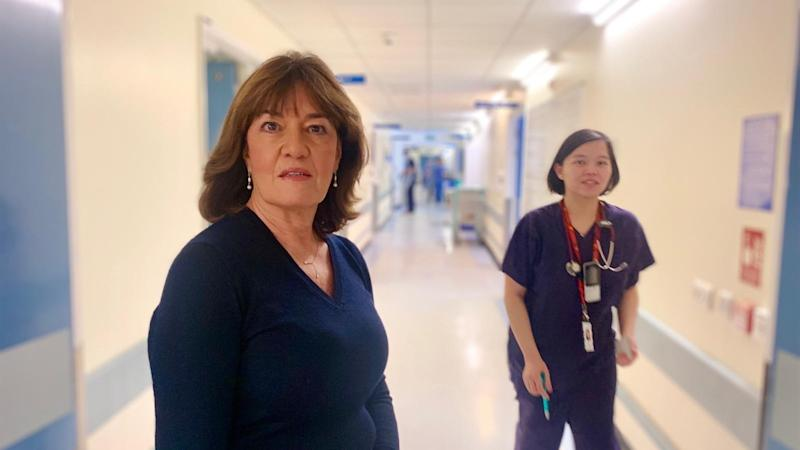 Medics will feel pressured for weeks or months, hospital boss says