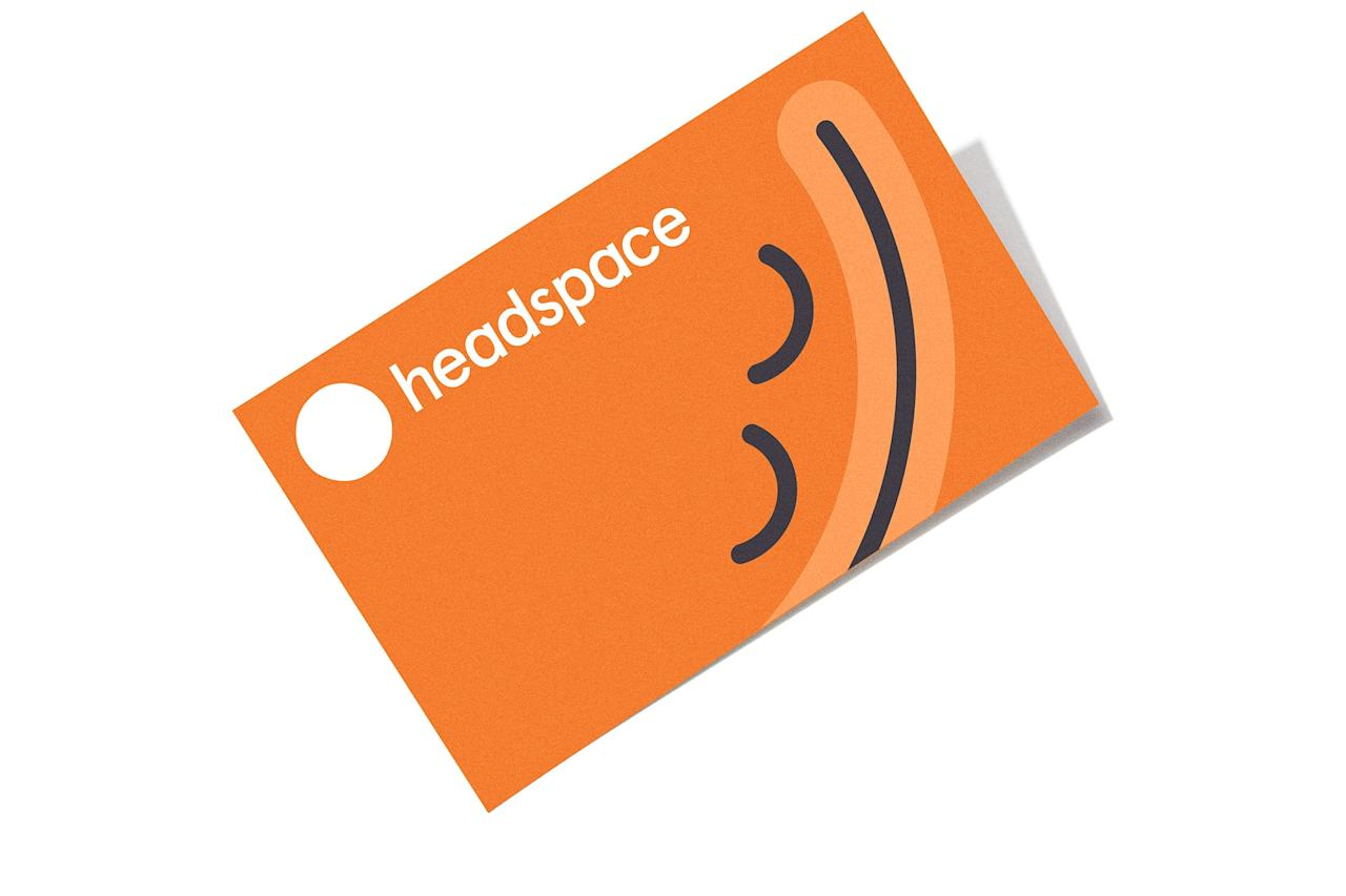 "$40, Headspace. <a href=""https://www.headspace.com"">Get it now!</a>"