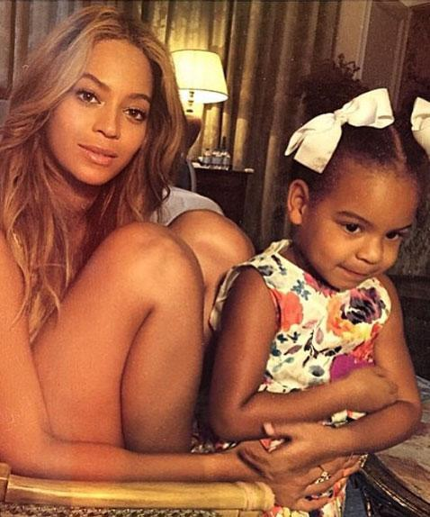 <p>The youngest of the Carter clan is starting to majorly take after mom and dad in the looks department. So sweet!</p>