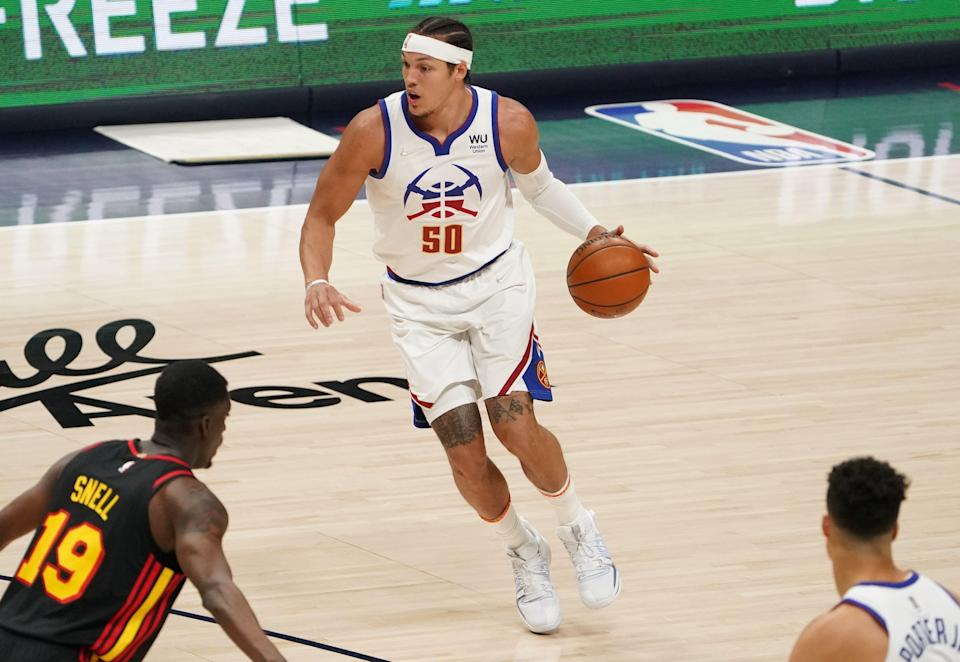 Aaron Gordon has looked good so far in his new Nuggets uniform, averaging 13 points. The Nuggets also like his ability to guard multiple positions.