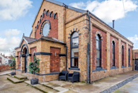 """<p>This renovated chapel, which served as the filming location for scenes of Hulu's comedy The Great, intertwines both modern and traditional features. Arranged over two levels, you'll find five <a href=""""https://www.countryliving.com/uk/homes-interiors/interiors/a34409798/cheap-tips-warm-bedroom-winter/"""" rel=""""nofollow noopener"""" target=""""_blank"""" data-ylk=""""slk:bedrooms"""" class=""""link rapid-noclick-resp"""">bedrooms</a>, an open fireplace, breakfast bar, enclosed gardens and six bathrooms. </p><p><a class=""""link rapid-noclick-resp"""" href=""""https://big-cottages.com/properties/united-kingdom/england/yorkshire-and-the-humber/east-yorkshire/driffield/cottage-in-yorkshire"""" rel=""""nofollow noopener"""" target=""""_blank"""" data-ylk=""""slk:MORE INFO"""">MORE INFO</a></p>"""