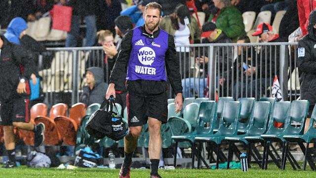 Kieran Read has been carrying the water for Crusaders while not fully fit, but will be back in action for club side University this weekend.