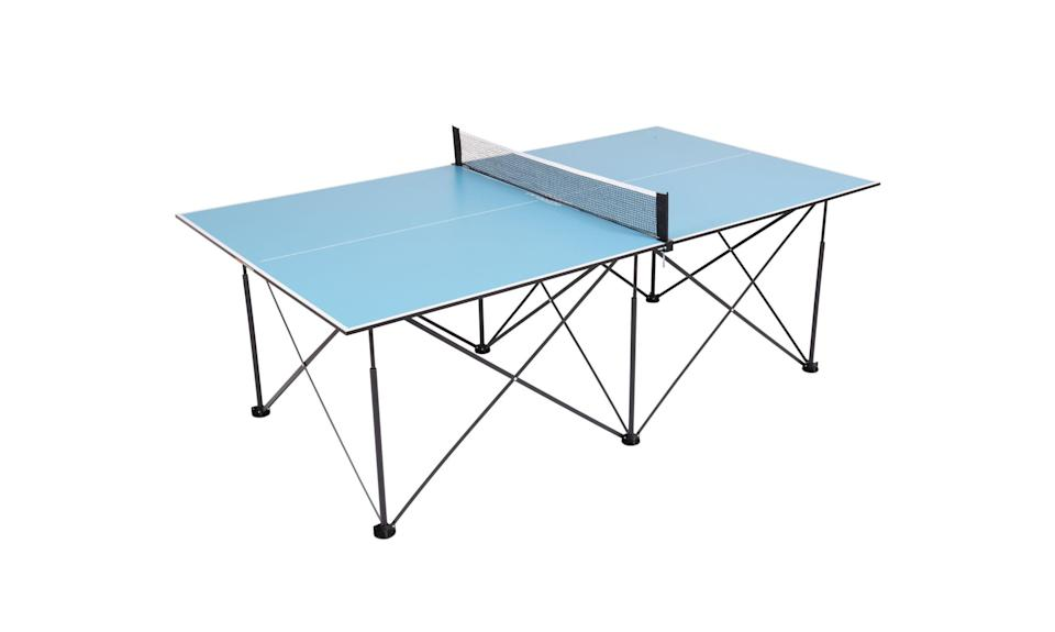 Ping-Pong 7' Instant Play Pop-Up Compact Table Tennis (Photo: Walmart)