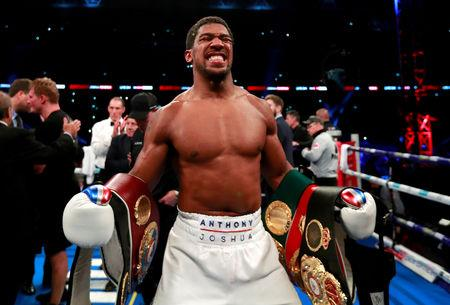 Boxed out: Anthony Joshua's Wembley return 'set to be scrapped'