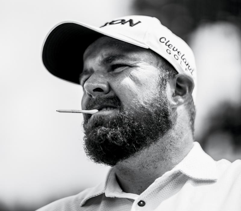 Shane Lowry during practice prior to the 2019 BMW Championship.