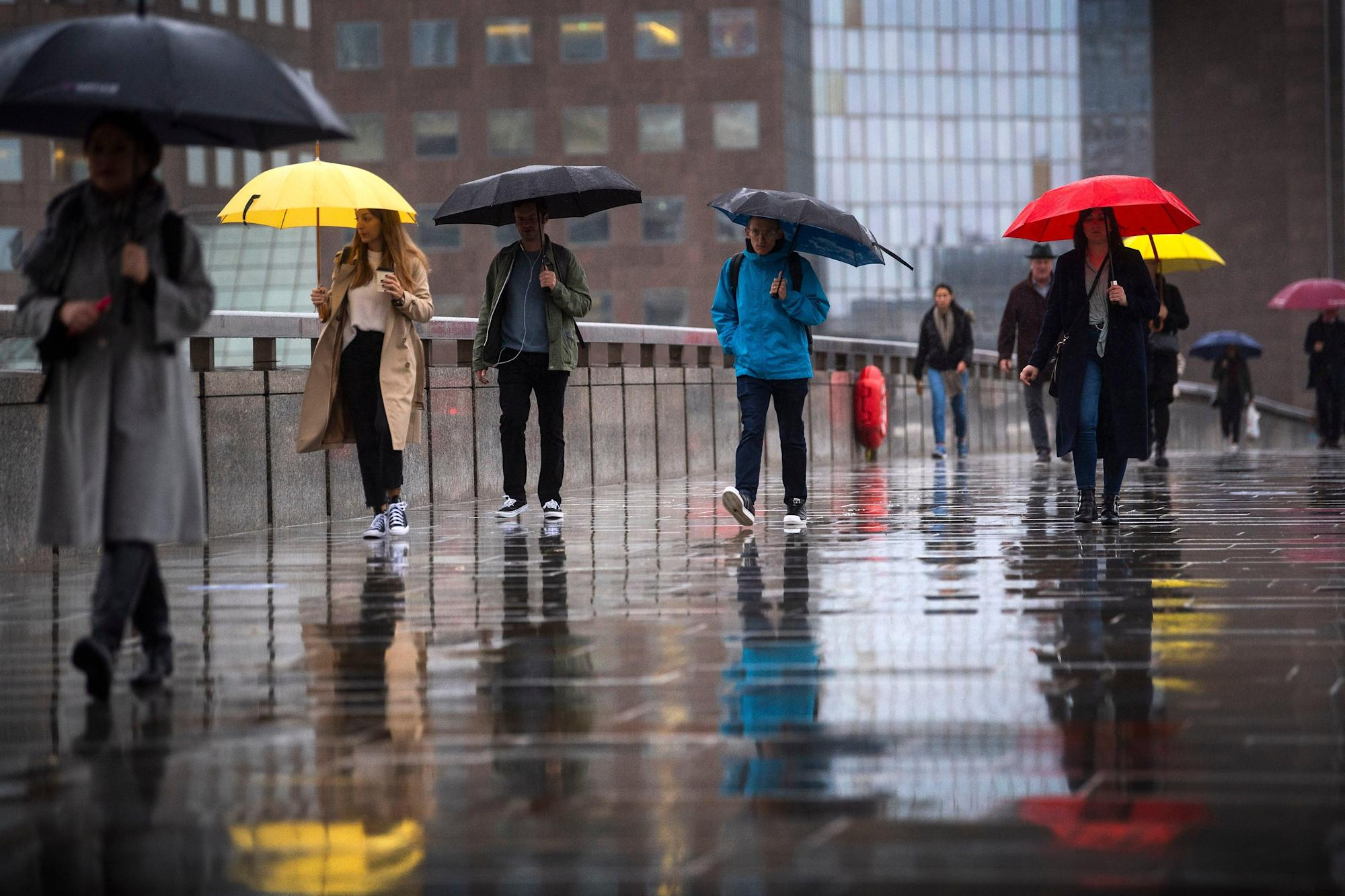 UK weather: Heavy rain and strong winds to hit some areas