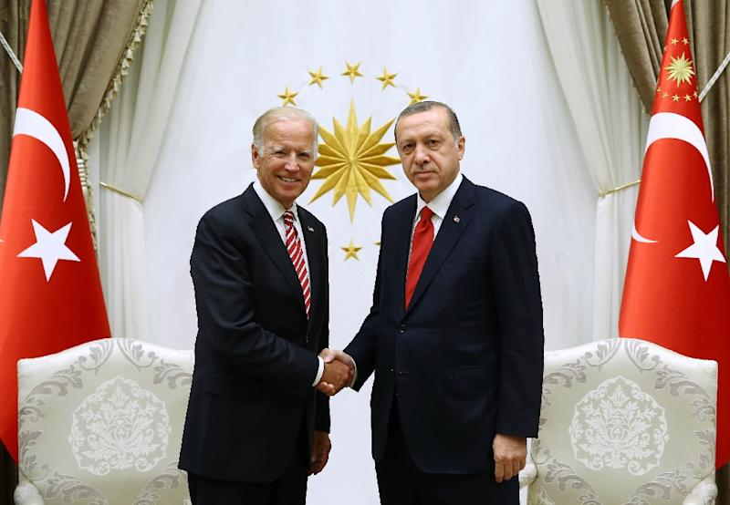 US Secretary of State Joe Biden made a visit to Turkey last week (AFP Photo/Kayhan Ozer)