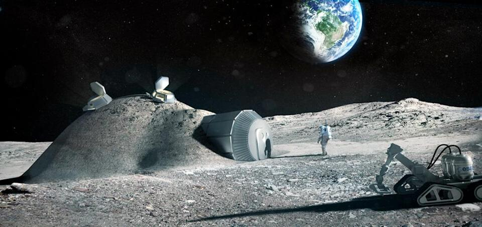 Affordable housing in outer space: Scientists develop cosmic concrete from space dust and astronaut blood
