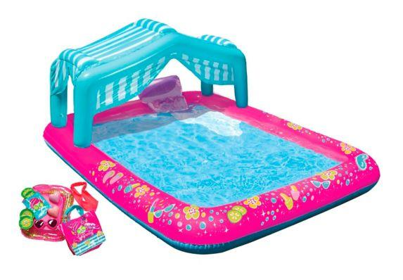 Banzai Spa Party Kid's Inflatable Pool. Image via Canadian Tire.