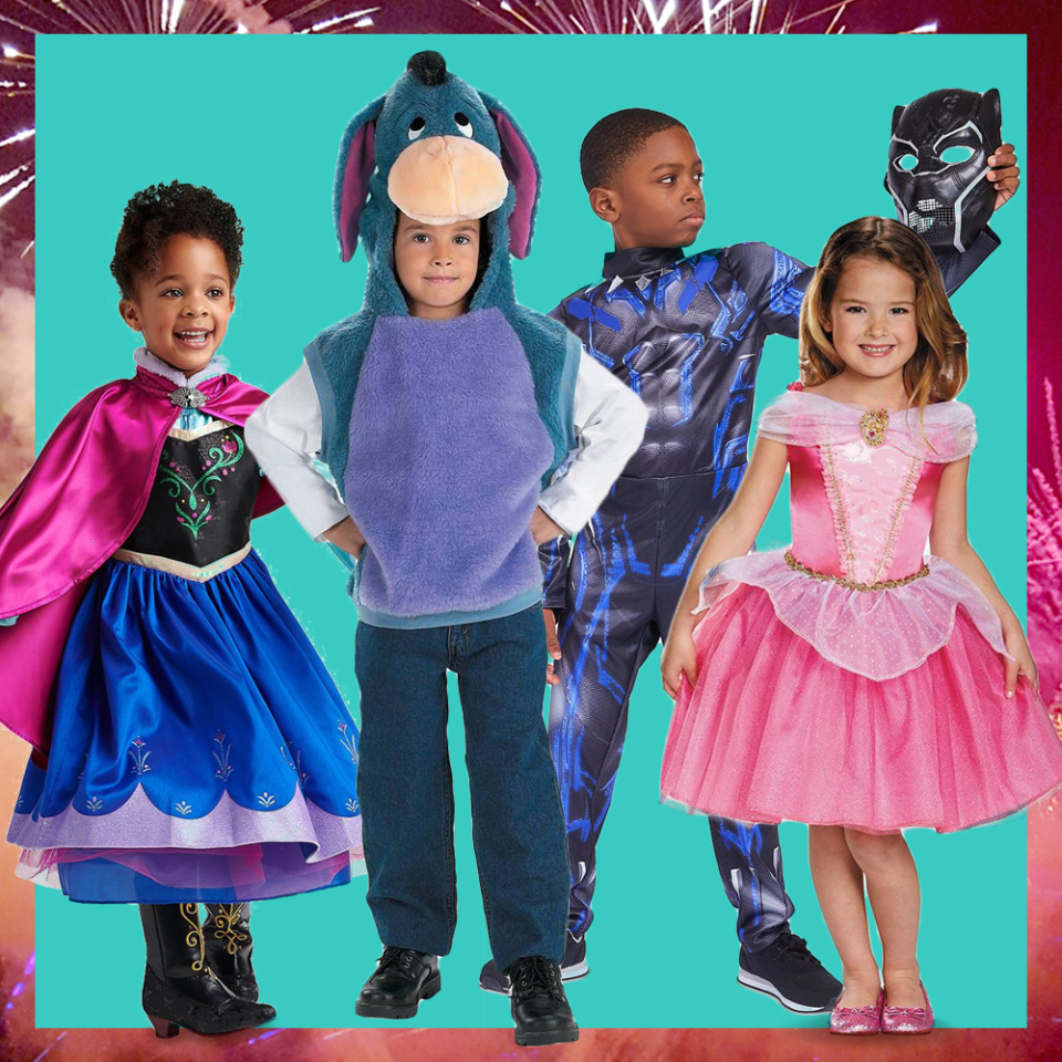 """<p>Chances are, your kid will want to dress up as their absolute <a href=""""https://www.goodhousekeeping.com/life/entertainment/g3647/celebrities-dressed-like-disney-princesses/"""">favorite Disney character</a> for Halloween this year. This might sound familiar, as you probably donned a Belle or Snow White dress back in the day. In fact, you might even want to wear it this year. In our opinion, Disney Halloween costumes are ageless, and there's something that everyone in your family can wear on October 31. Whether you're a Lion King eager for the remake or an action-loving Avengers fan, we have the best Halloween costumes right here. </p><p>A dream may be a wish your heart makes when you're fast asleep … but we know how to achieve your Halloween dreams on Amazon and other Halloween costume retailers. There are options for the <a href=""""https://www.goodhousekeeping.com/holidays/halloween-ideas/g1422/group-halloween-costumes/"""">entire family</a> to dress as the cast, selections for <a href=""""https://www.goodhousekeeping.com/holidays/halloween-ideas/g2625/halloween-costumes-for-couples/"""">couples</a>, or individual ones to show your Disney spirit all on your own. If you want to go the DIY route, we also have <a href=""""https://www.goodhousekeeping.com/holidays/halloween-ideas/a24183071/diy-disney-costumes/"""">a few affordable ideas</a> to get you started from scratch. Once you've selected the Disney Halloween costume of your dreams, we encourage you to look back on the <a href=""""https://www.goodhousekeeping.com/life/entertainment/g28117016/old-disney-movies/"""">Disney movie you were obsessed with in kindergarten</a> (trust us, it's a good one).  </p>"""