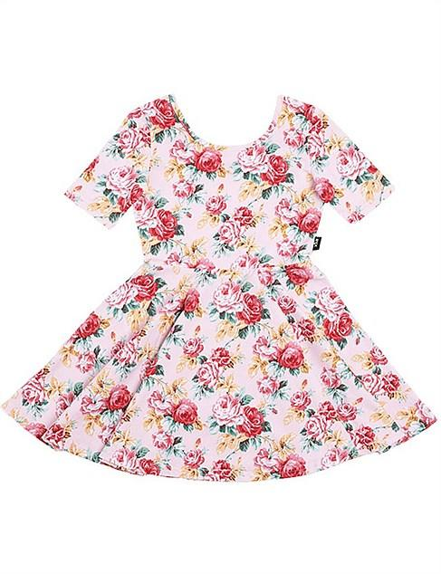 David Jones' range Rock Your Kid offers this adorable Rose Essence Mabel Dress for $55.