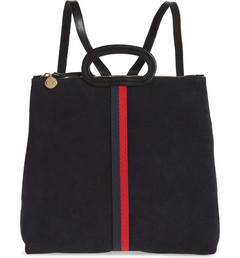 <p><span>Clare V. Marcelle Suede Tote Backpack</span> ($176, originally $399)</p>