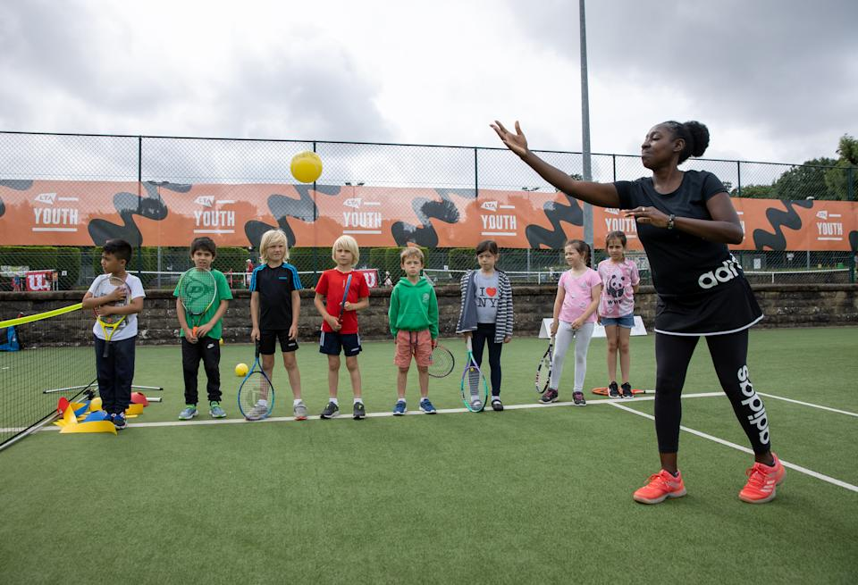 Andy Murray and Emma Raducanu have helped inspire the next generation of tennis talent