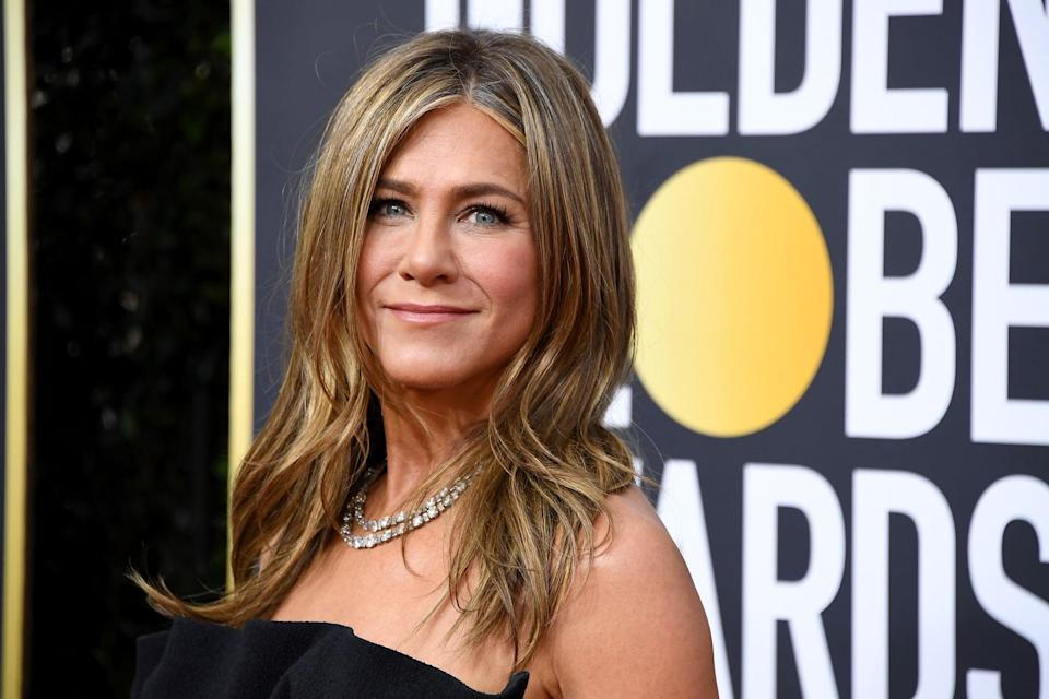 BEVERLY HILLS, CALIFORNIA - JANUARY 05: Jennifer Aniston attends the 77th Annual Golden Globe Awards at The Beverly Hilton Hotel on January 05, 2020 in Beverly Hills, California. (Photo by Steve Granitz/WireImage)