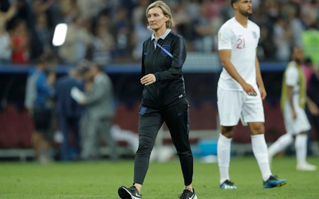 Dr Pippa Grange left the England set up to little fanfare - Getty Images Europe