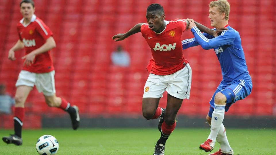 Pogba in Youth League | Michael Regan/Getty Images