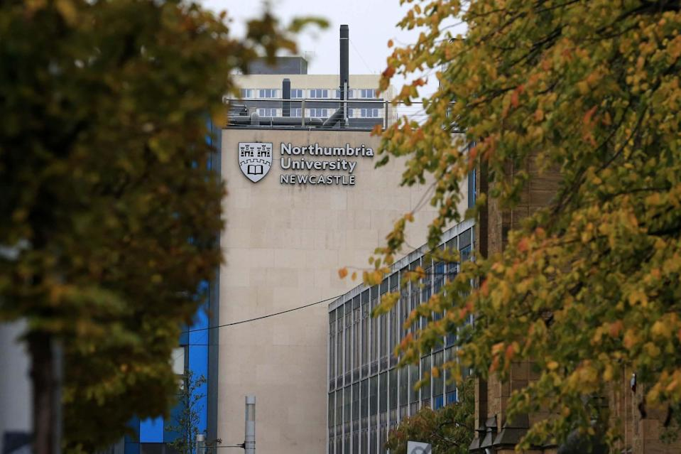 Northumbria has reported 770 positive tests (AFP via Getty Images)
