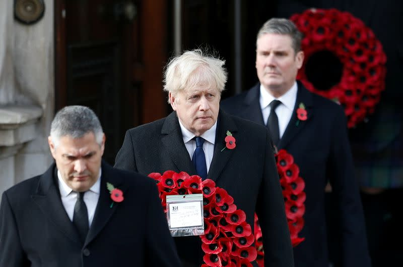 National Service of Remembrance at the Cenotaph in Westminster